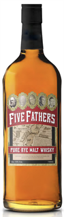 Five Fathers Rye Whisky Pure Malt 750ml